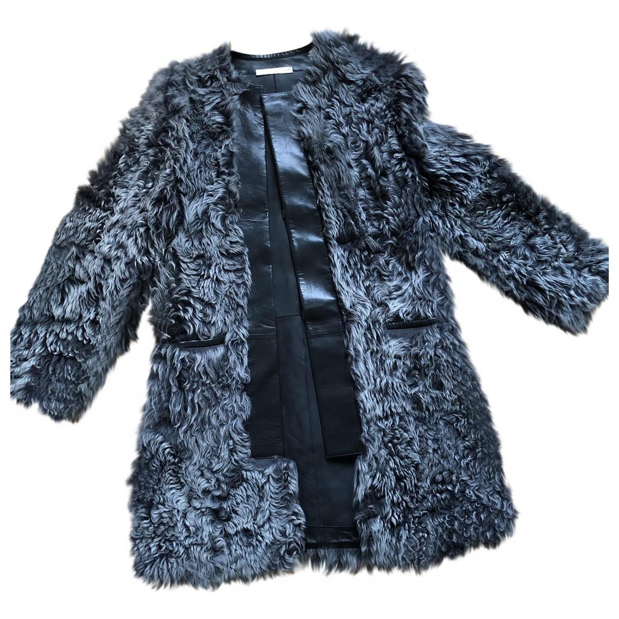 Balenciaga \N Grey Shearling coat for Women 36 FR