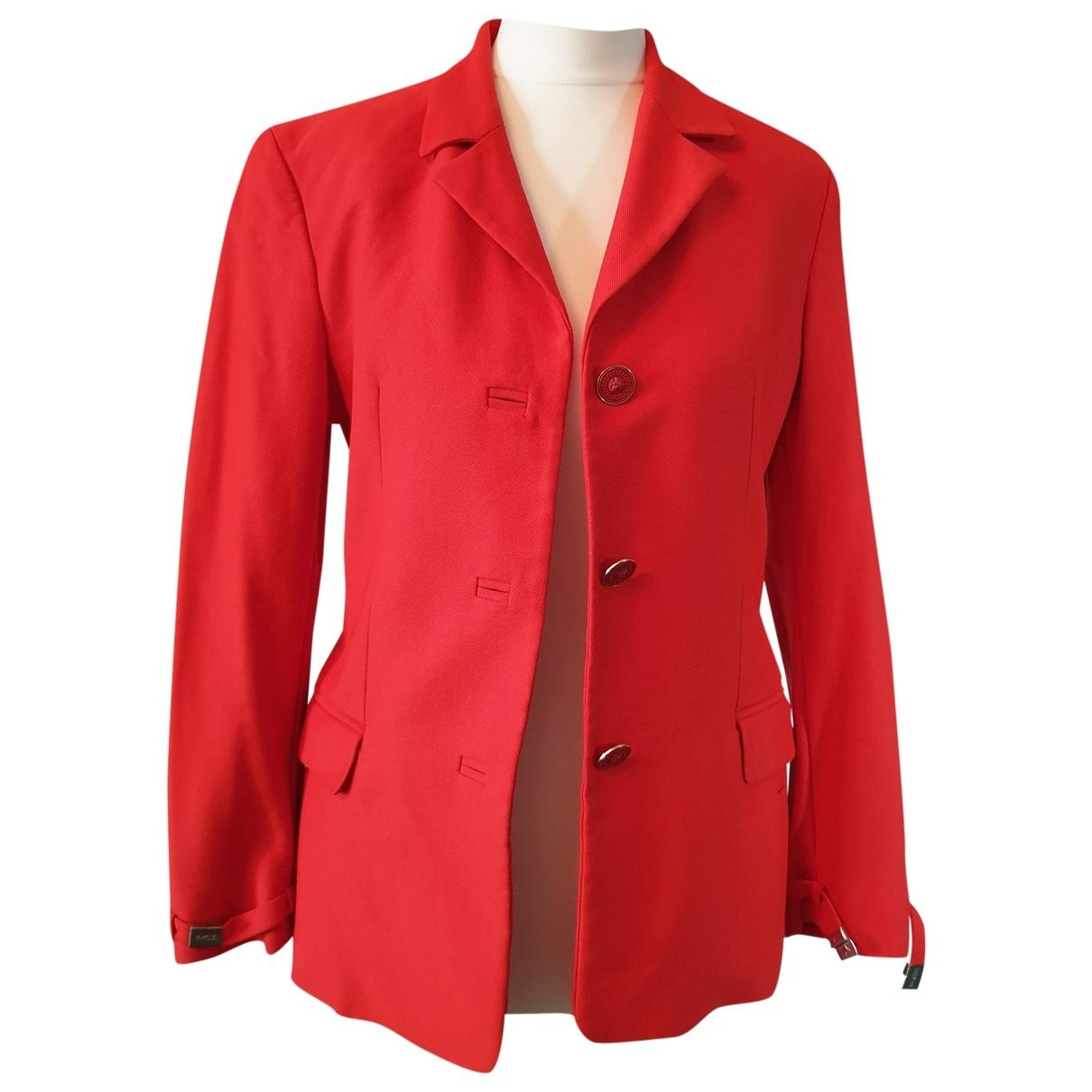 Versus \N Orange Cotton jacket for Women 40 IT