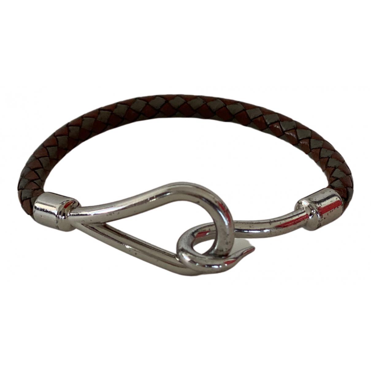 Hermès Jumbo Silver bracelet for Women \N