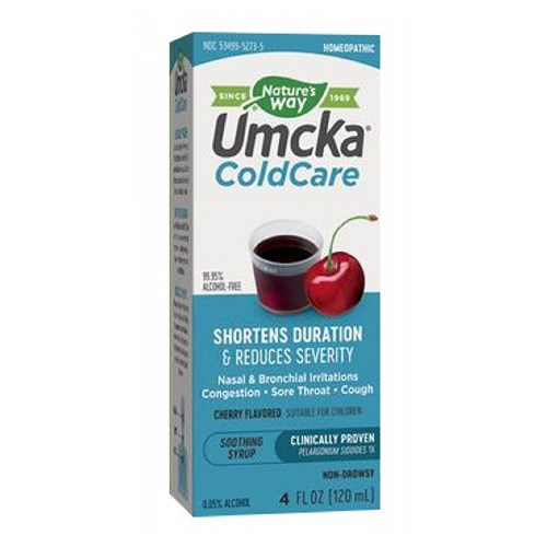 Umcka ColdCare Cherry (Syrup) 4 Oz by Nature's Way