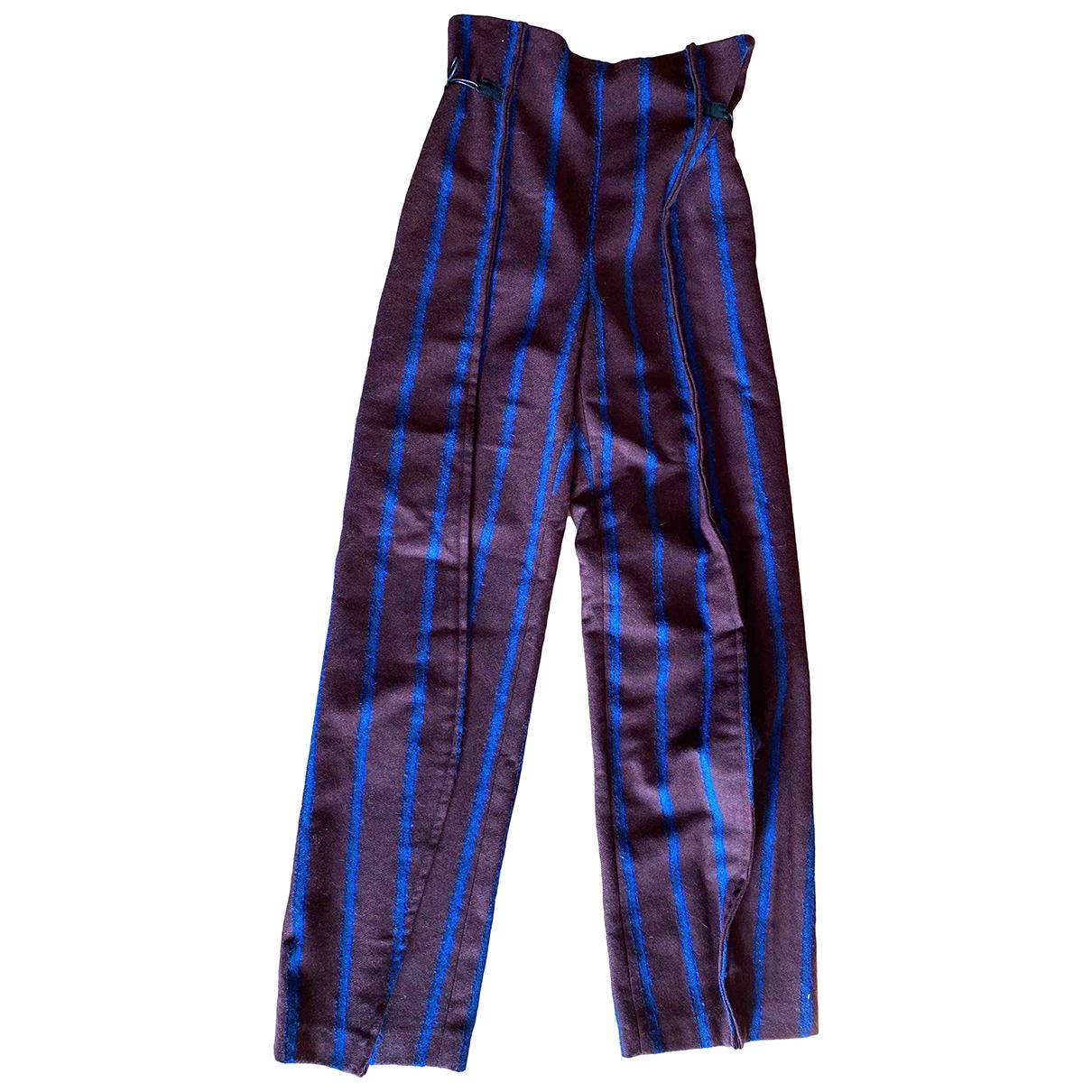 Litkovskaya \N Wool Trousers for Women 36 FR