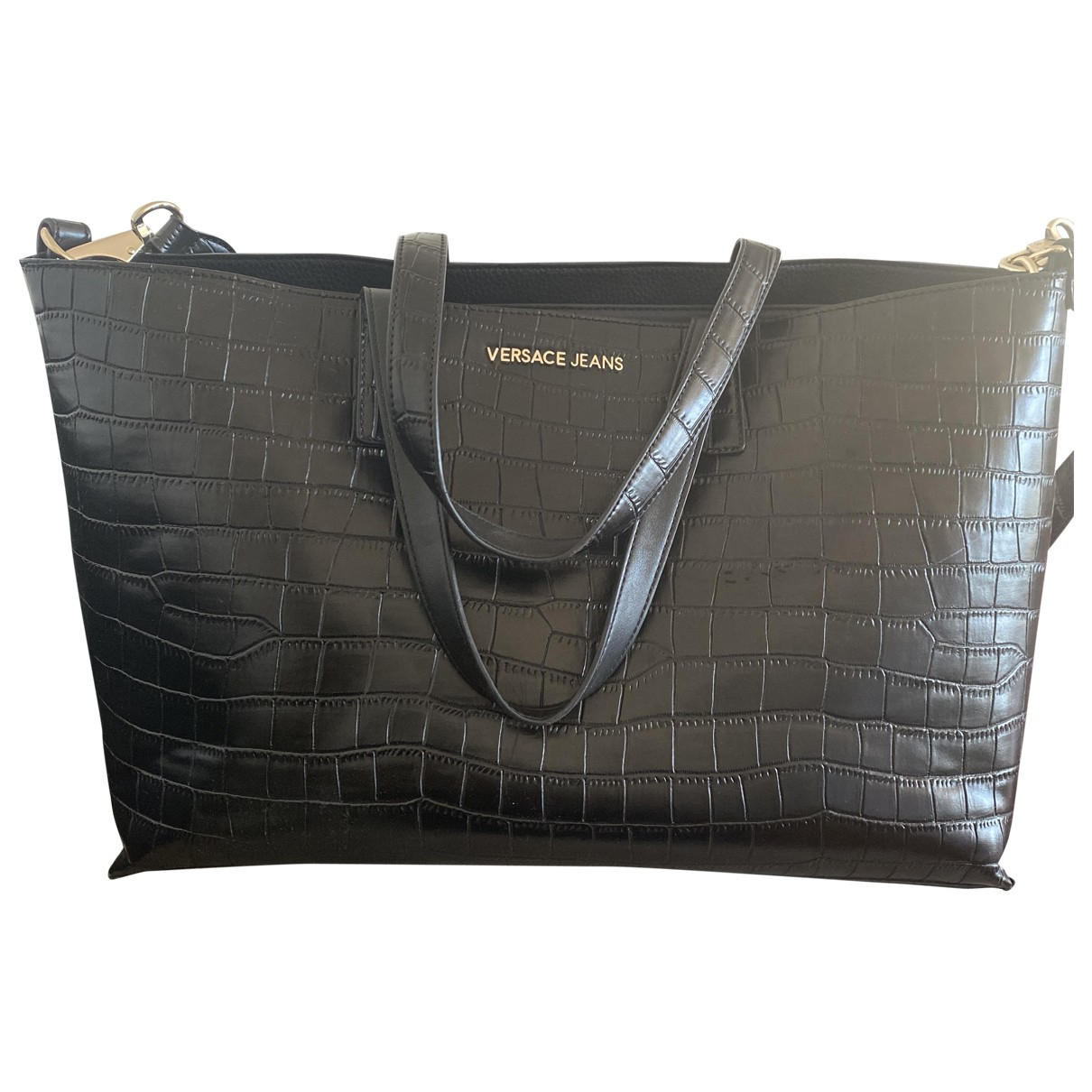 Versace Jeans \N Black handbag for Women \N