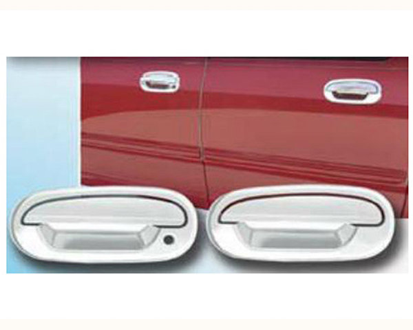 Quality Automotive Accessories ABS | Chrome Door Handle Cover Kit Ford F-150 2000