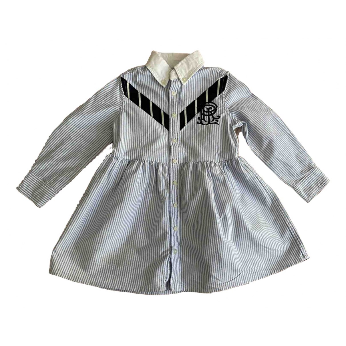 Ralph Lauren \N Blue Cotton dress for Kids 2 years - up to 86cm FR