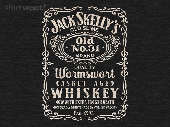 Jack's Casket Aged Whiskey T Shirt