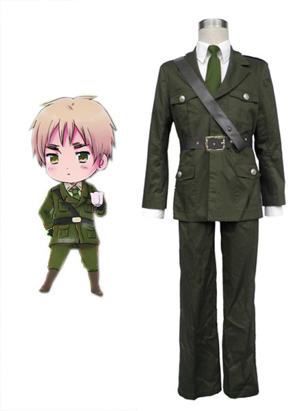 Milanoo Axis Powers Hetalia England Halloween Cosplay Wig Halloween