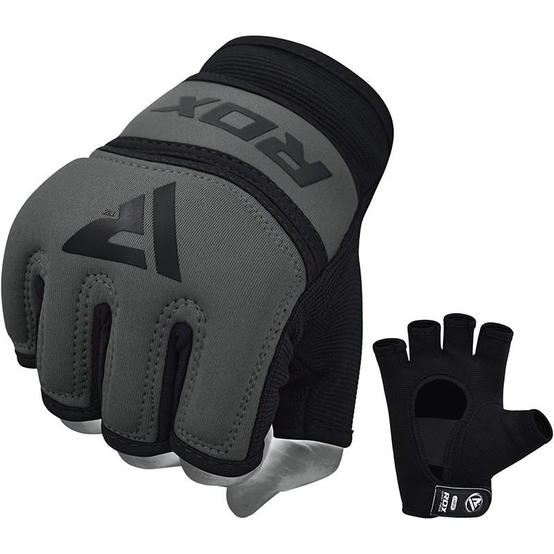 RDX X6 Inner Gloves Neoprene for Boxing or MMA Small Grey