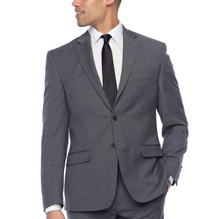 Collection by Michael Strahan Mens Classic Fit Suit Jacket, 38 Regular, Gray