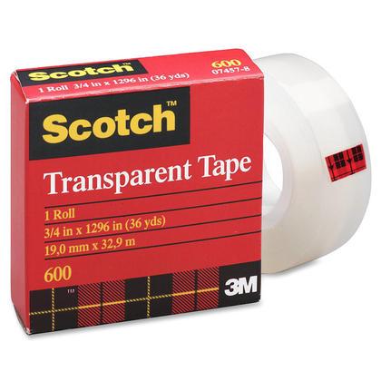 Scotch@ Transparent Adhesive Tape - Multi-sized (Refill) 229393