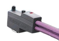 ERNI 144 Series, Right Angle, Female, 9 Way, Screw Terminal D-sub Connector