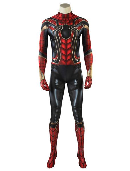 Milanoo Marvel Comics Avengers 3 Infinity War 2020 Spiderman Halloween Cosplay Costume