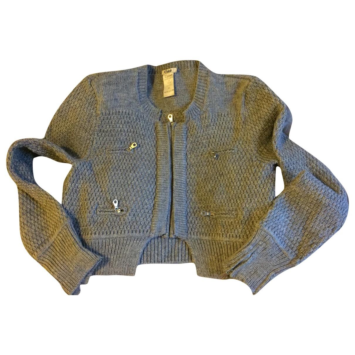 Chloé \N Grey Wool Knitwear for Women 38 IT