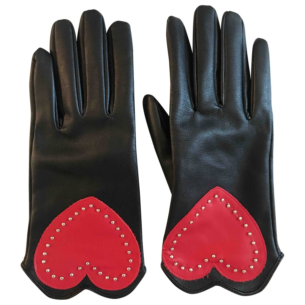 Non Signé / Unsigned \N Black Gloves for Women S International