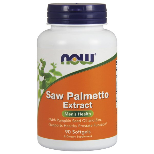 Saw Palmetto Extract 90 Softgels by Now Foods