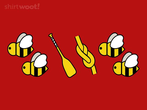 2 Bee Oar Knot 2 Bee T Shirt