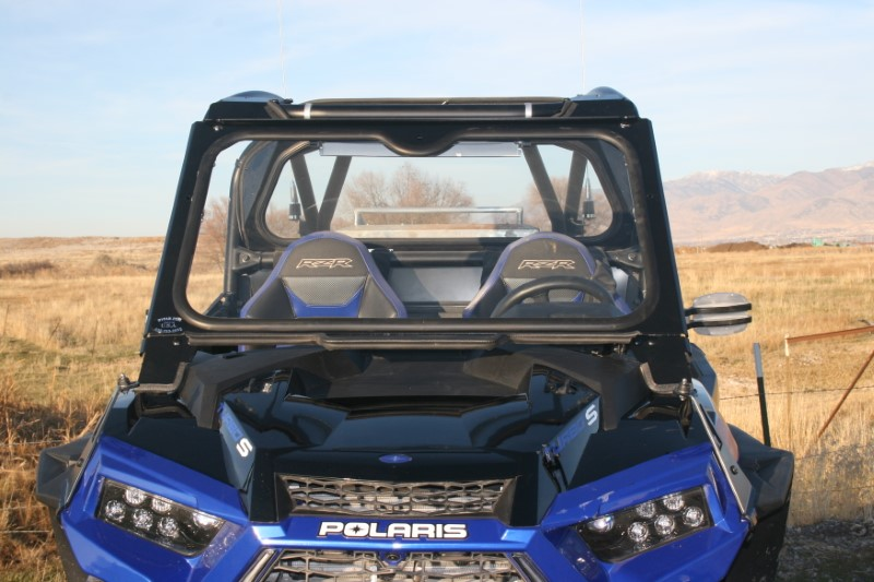 Ryfab WS1KTSW Glass Windshield w/ Wiper Polaris RZR Turbo S 18-19