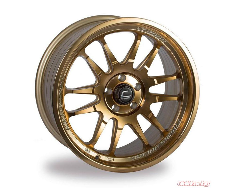 Cosmis Racing XT206R-1780-30-5x114.3-HBR XT-206R Wheel 17x8 5x114.3 +30mm Hyper Bronze