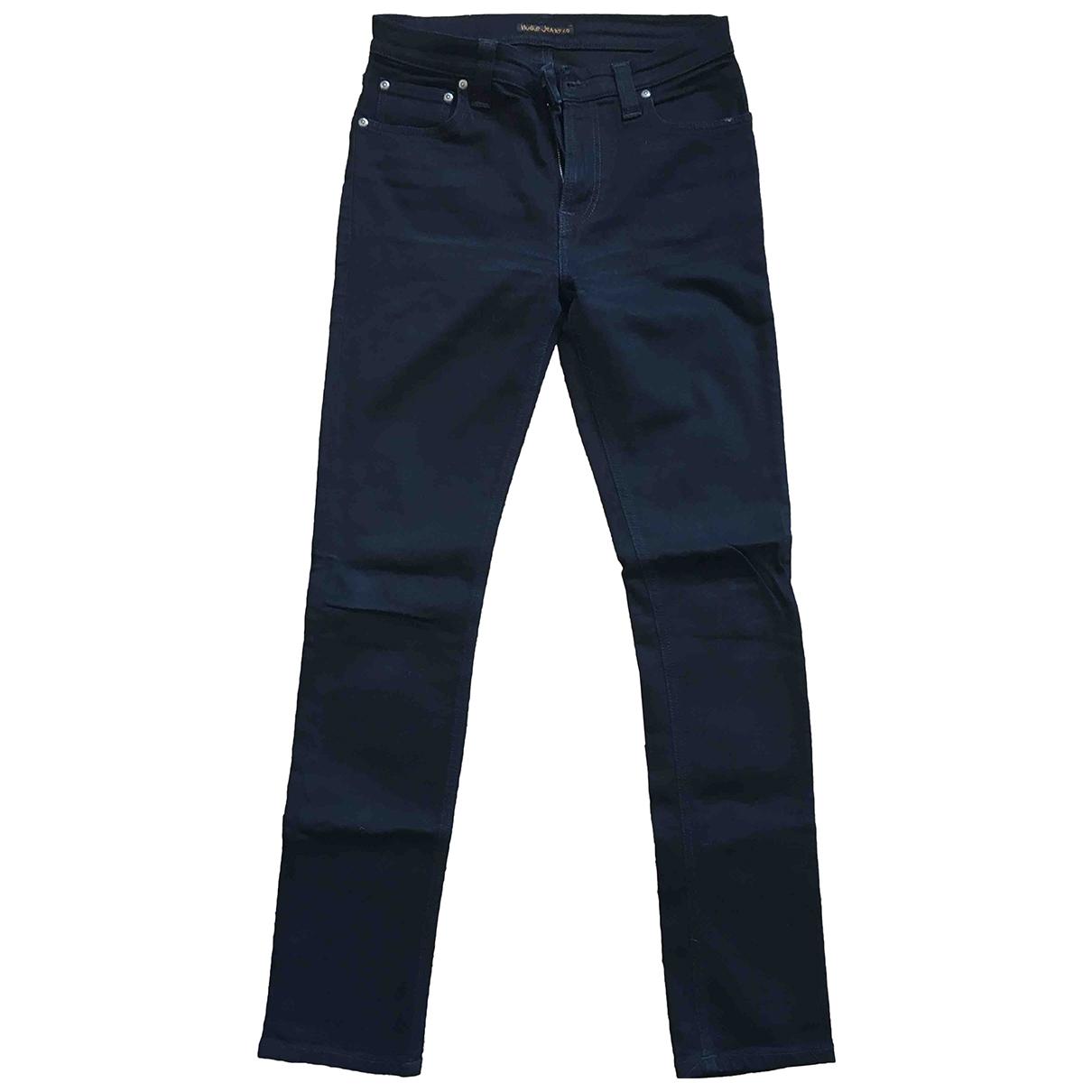 Nudie \N Black Denim - Jeans Trousers for Women 40 IT