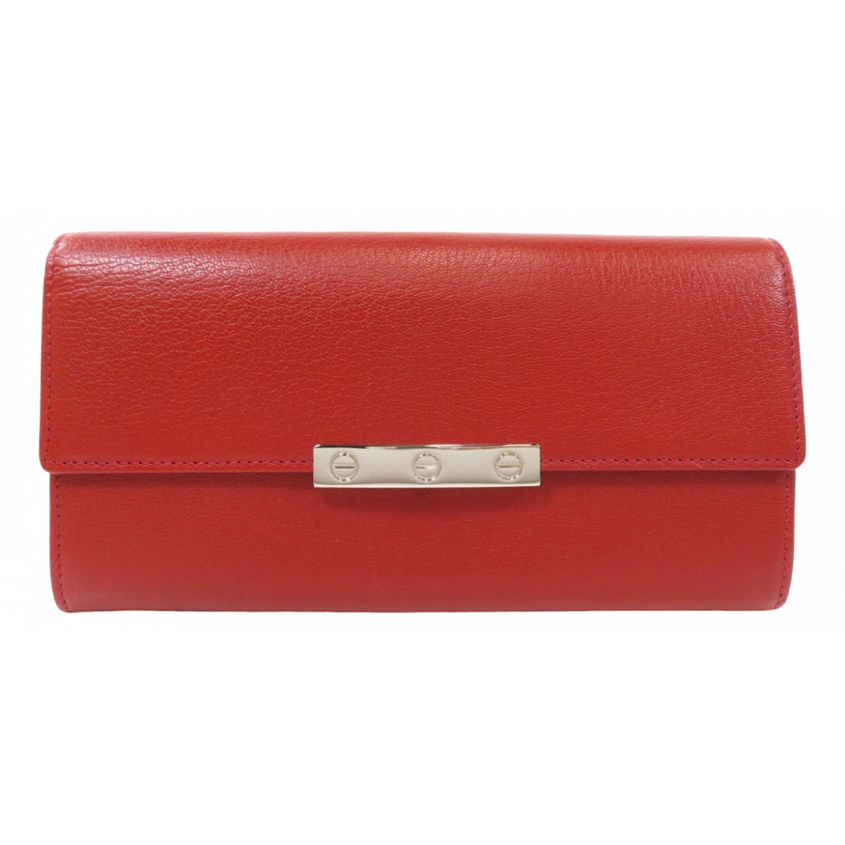 Cartier \N Red Leather wallet for Women \N