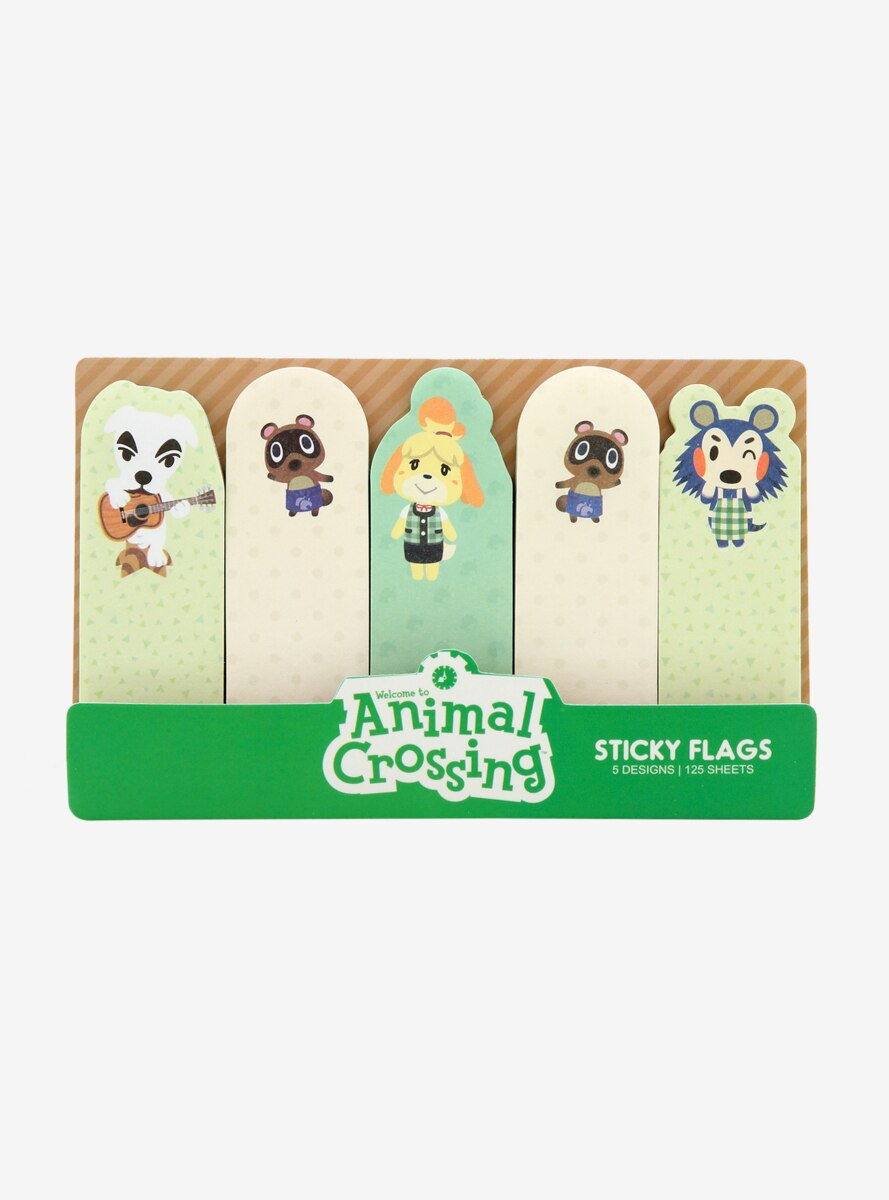 Nintendo Animal Crossing Sticky Flags - BoxLunch Exclusive