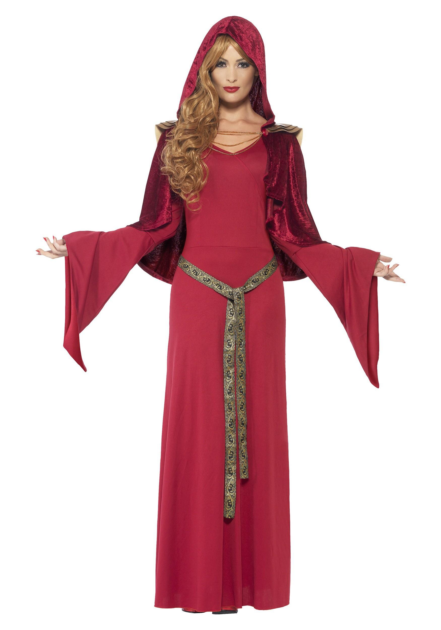 Red High Priestess Women's Costume