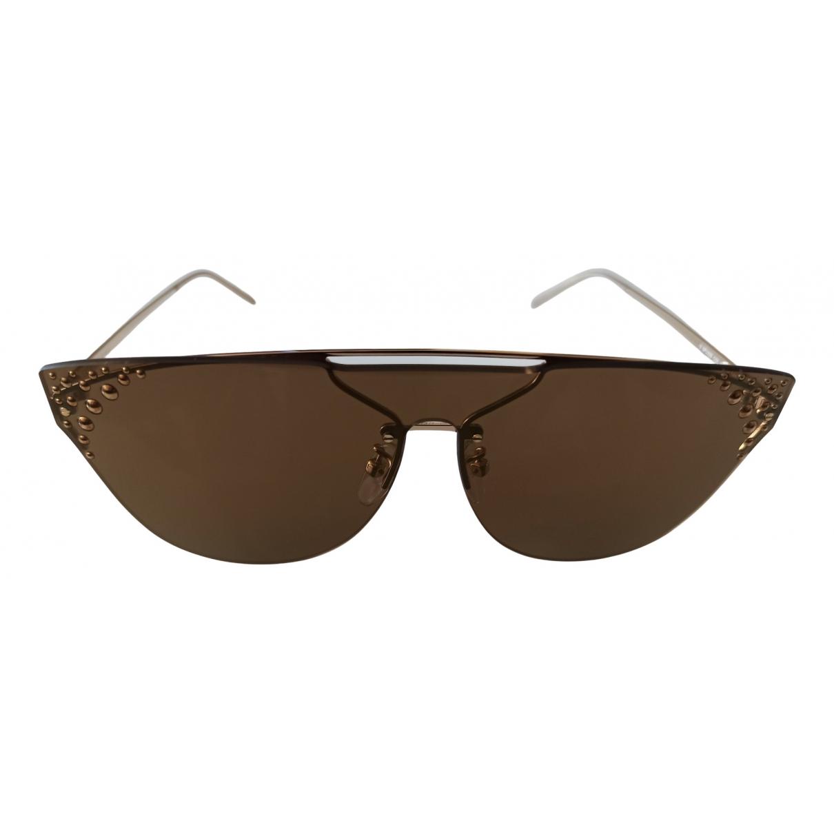 Furla \N Brown Metal Sunglasses for Women \N