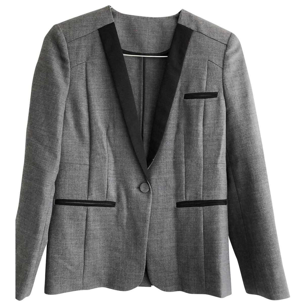Whistles \N Grey jacket for Women 10 UK