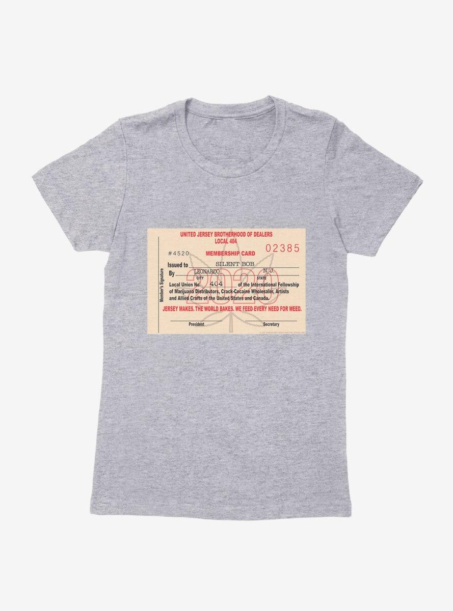 Jay And Silent Bob Reboot Weed Card Womens T-Shirt