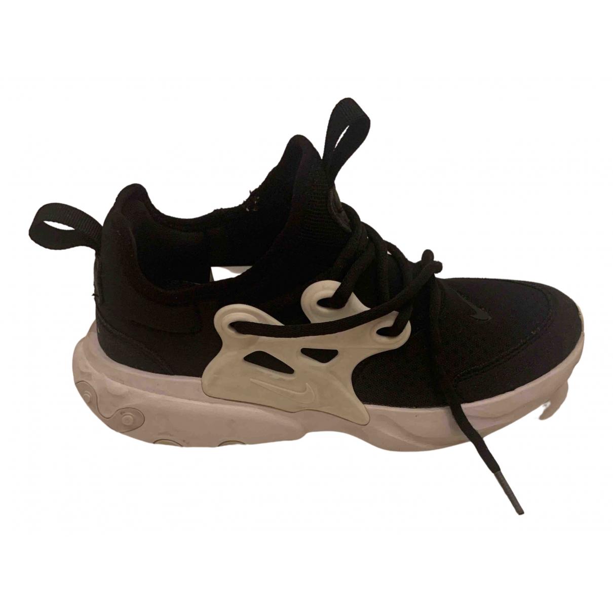 Nike Air Presto Black Trainers for Kids 2 UK