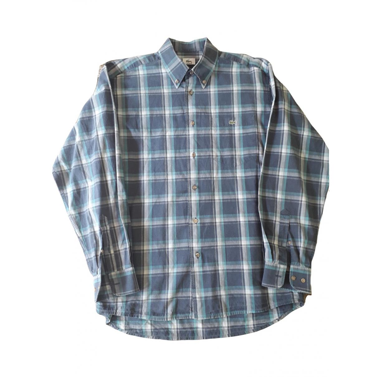 Lacoste \N Multicolour Cotton Shirts for Men 40 EU (tour de cou / collar)