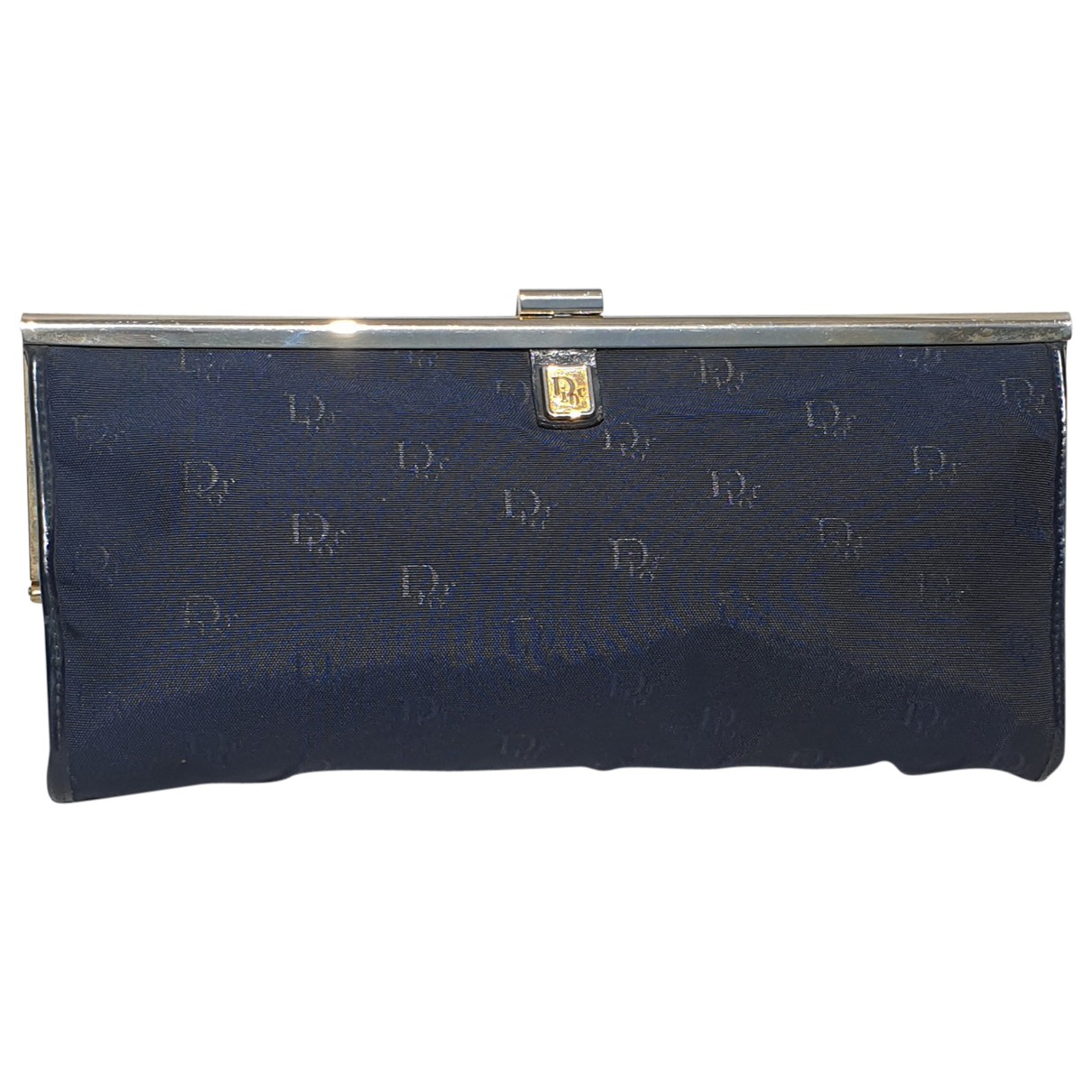 Dior \N Navy Cloth Clutch bag for Women \N