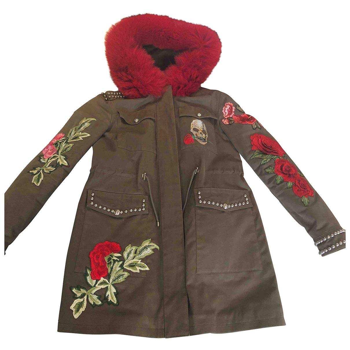 Philipp Plein \N Green coat for Women M International