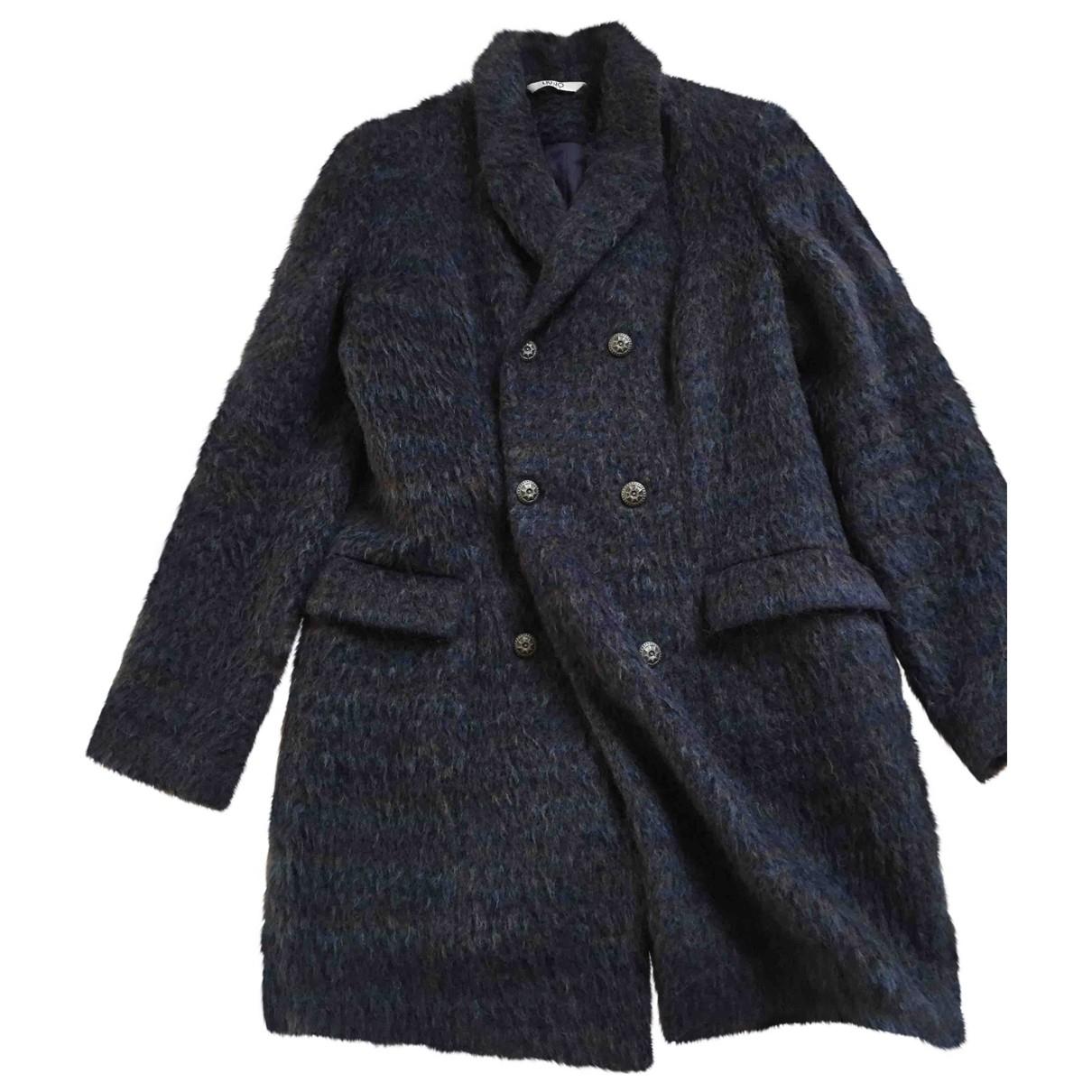 Liu.jo \N Blue Wool coat for Women 40 FR
