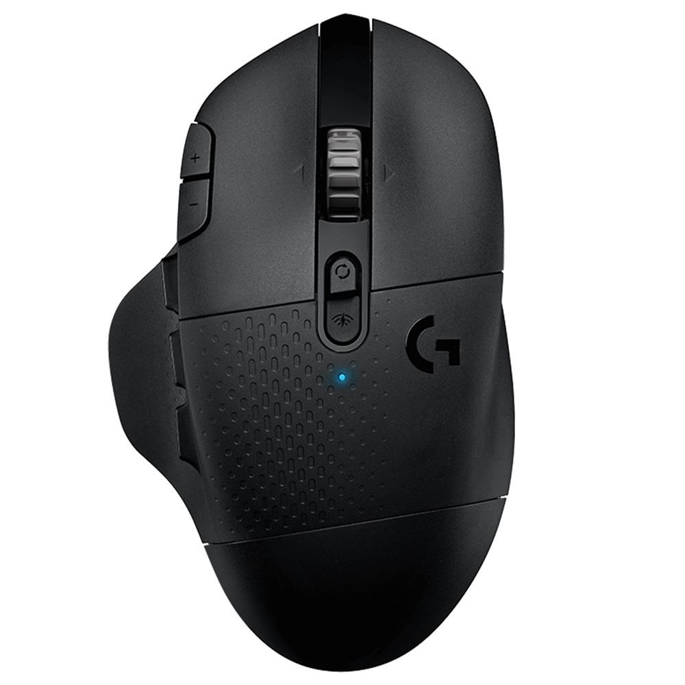 Logitech G604 Lightspeed Wireless Gaming Mouse 1000Hz Dual-mode 16000DPI Hero Sensor - Black