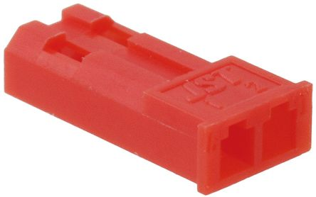 JST , 2 Way, 1 Row, Straight RCY Pin Housing (10)