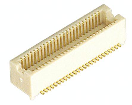 Hirose , DF12, 40 Way, 2 Row, Straight PCB Header (5)