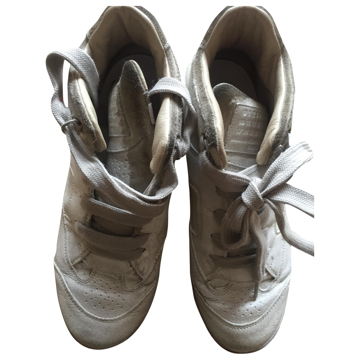 Maison Martin Margiela \N White Leather Trainers for Women 40 IT
