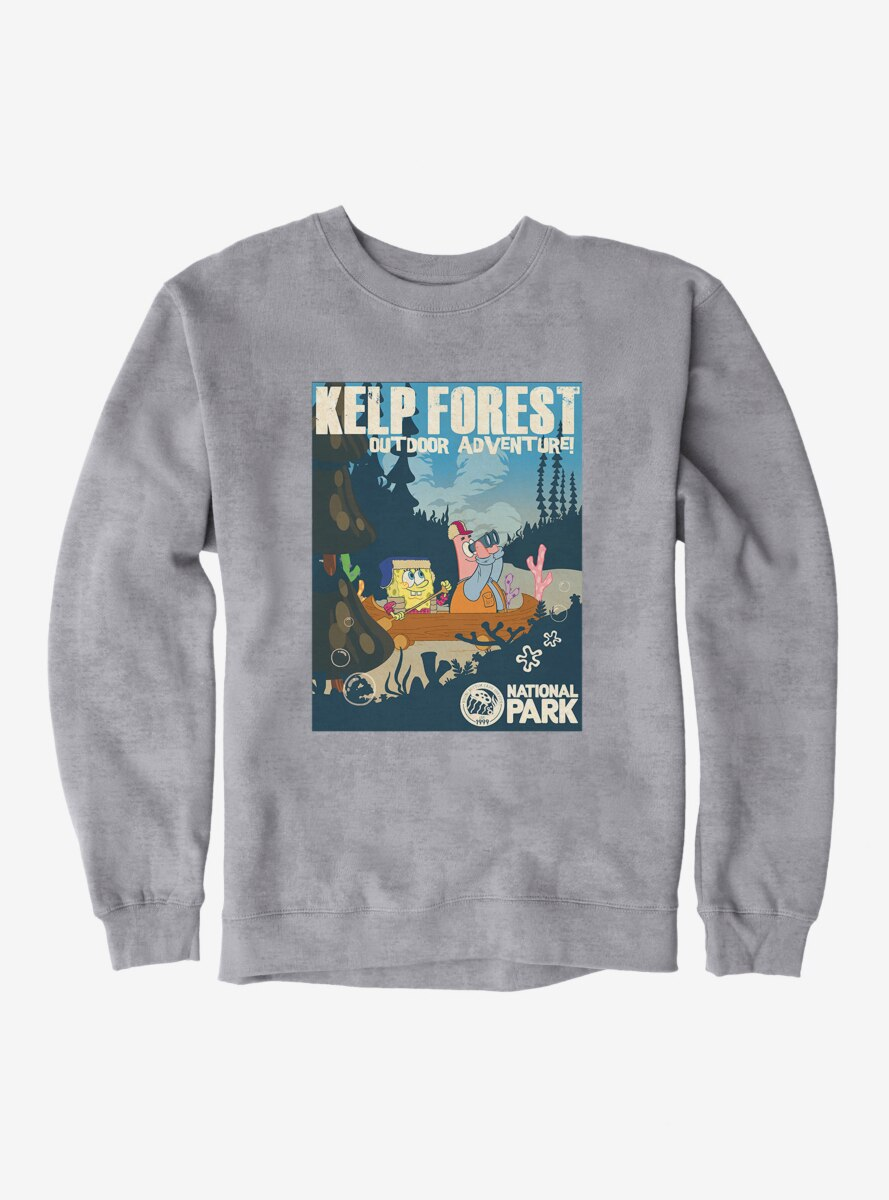 SpongeBob SquarePants Kelp Forest Adventures Sweatshirt