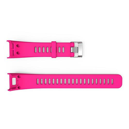 Smart Bracelet Replacement Separated Strap with Screw Driver and Screw PB 2.6 for GARMIN VIVOSMART HR - Rose Red