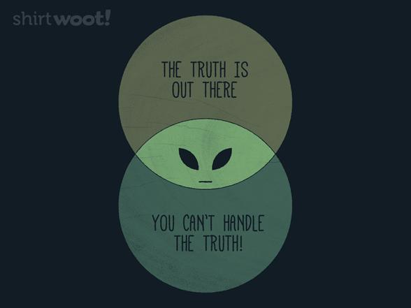 An Alien Truth T Shirt