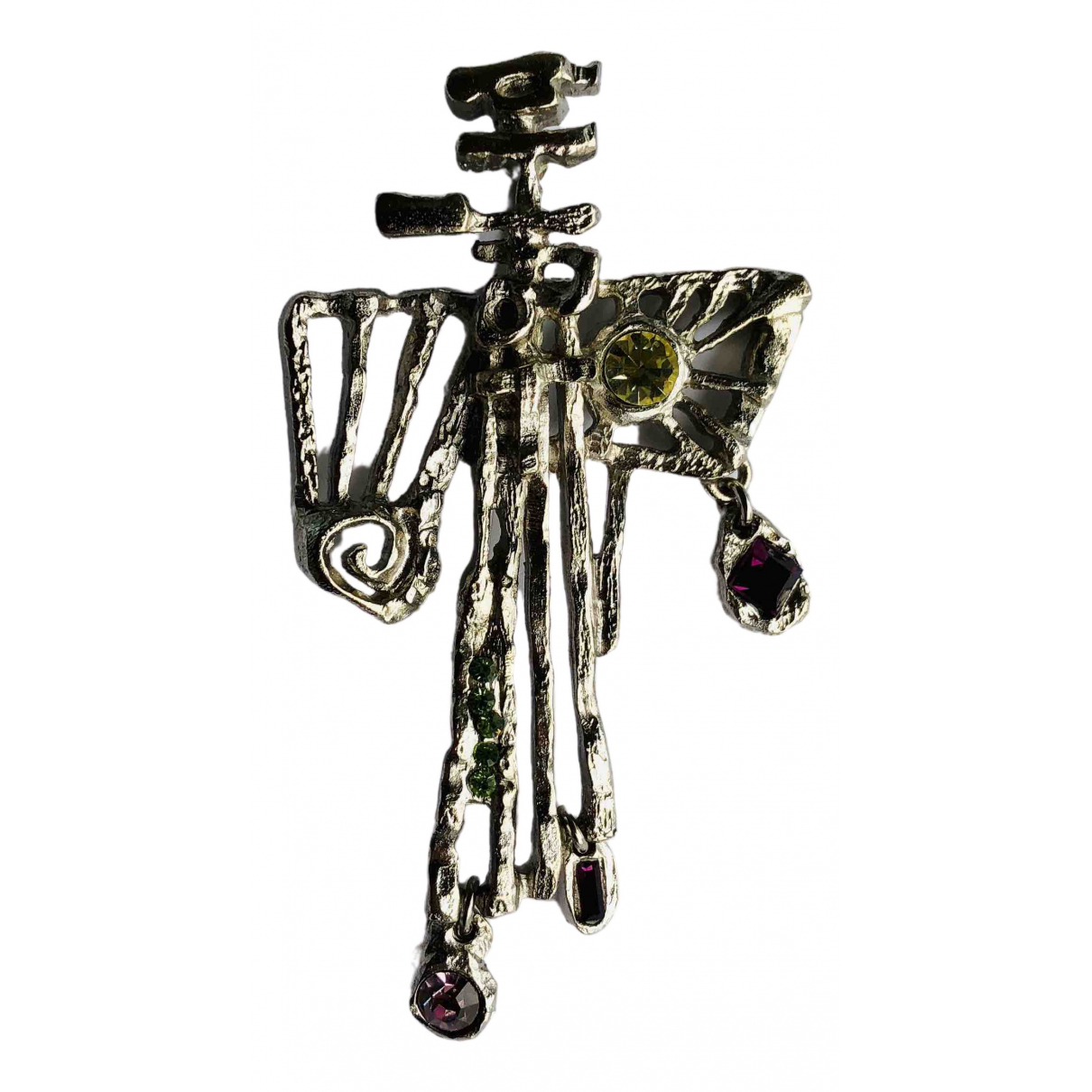 Christian Lacroix \N Silver Metal Pins & brooches for Women \N