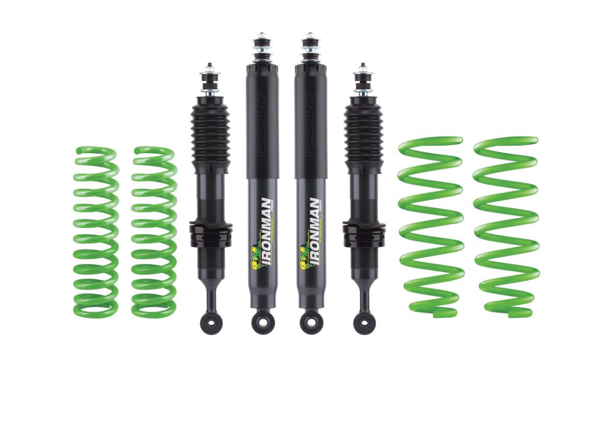 Ironman 4x4 TOY072BKP Toyota Sequoia 2000-07 Foam Cell Pro Suspension Kit - Stock Load