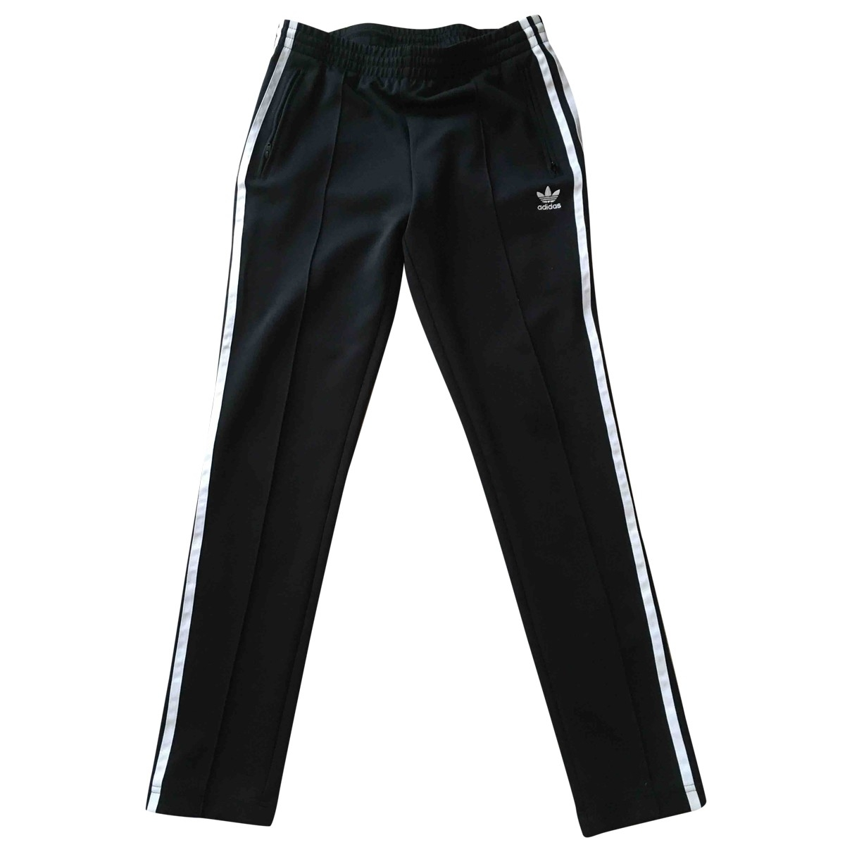 Adidas \N Black Trousers for Women 10 UK
