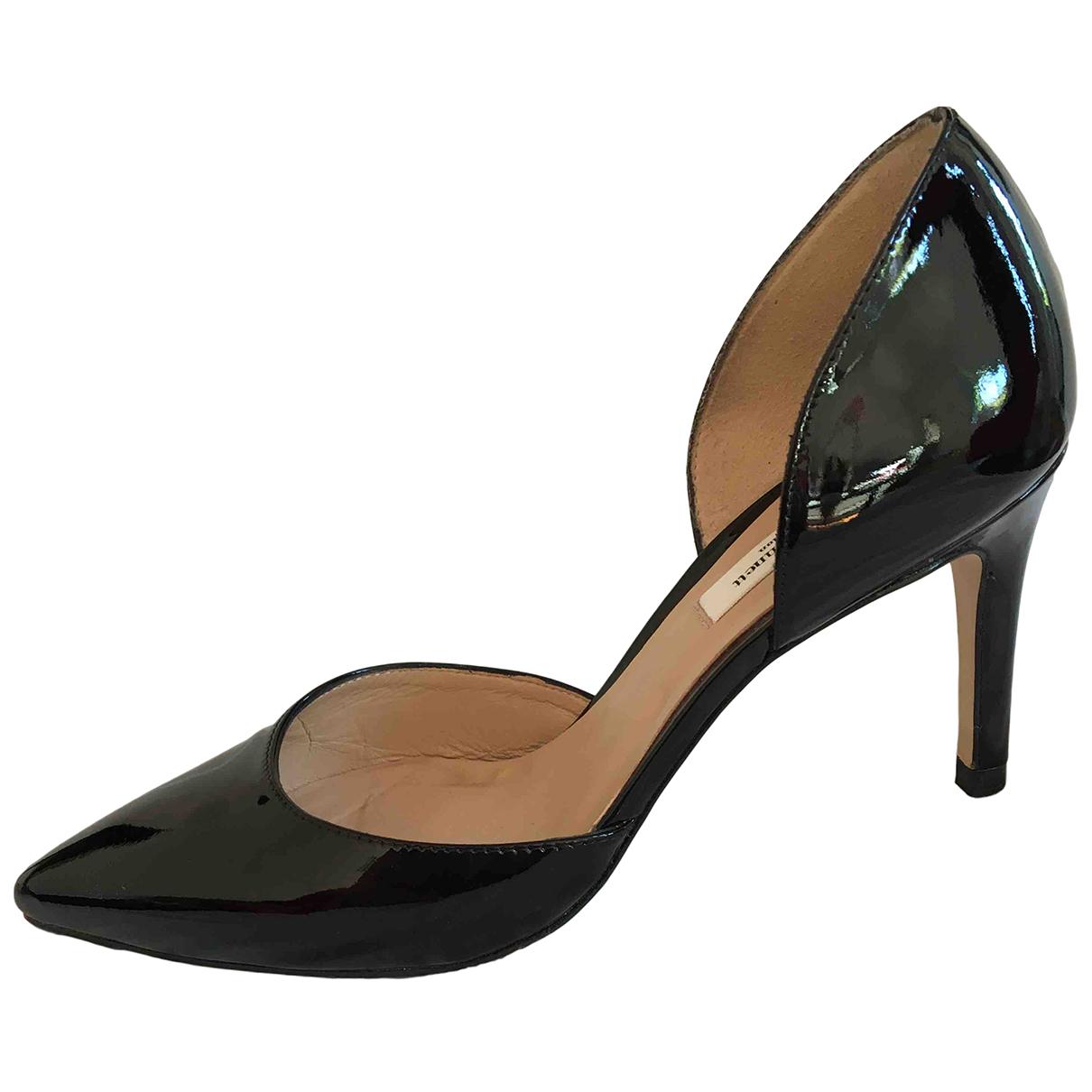 Lk Bennett \N Black Patent leather Heels for Women 37.5 EU