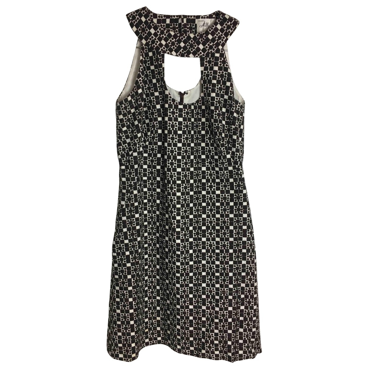 Milly \N White Cotton dress for Women 4 US