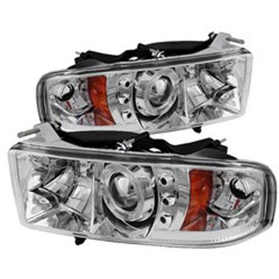 Spyder Auto Group Halo LED Projector Headlights - 5069771