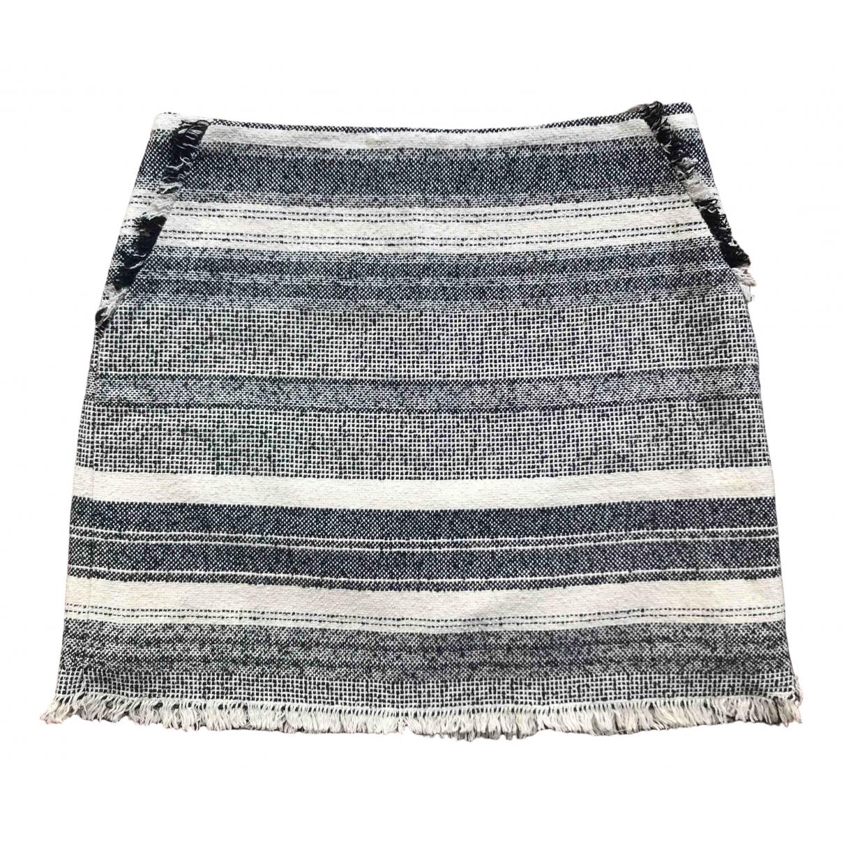 Mango \N Grey Cotton skirt for Women 38 FR
