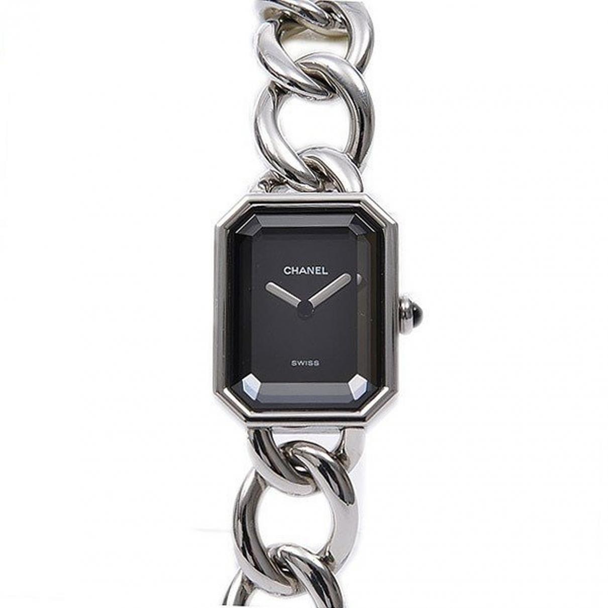 Chanel Première Chaîne Silver Steel watch for Women \N