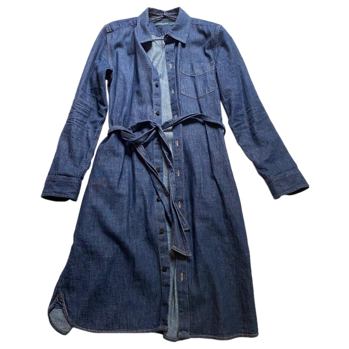 Lauren Ralph Lauren \N Blue Denim - Jeans dress for Women M International