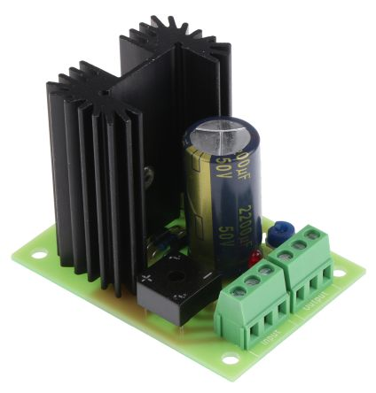 OEP Embedded Linear Power Supply Open Frame, 3.5 → 27 V ac, 3.5 → 28 V dc Input, 1.25 → 24V dc Output,